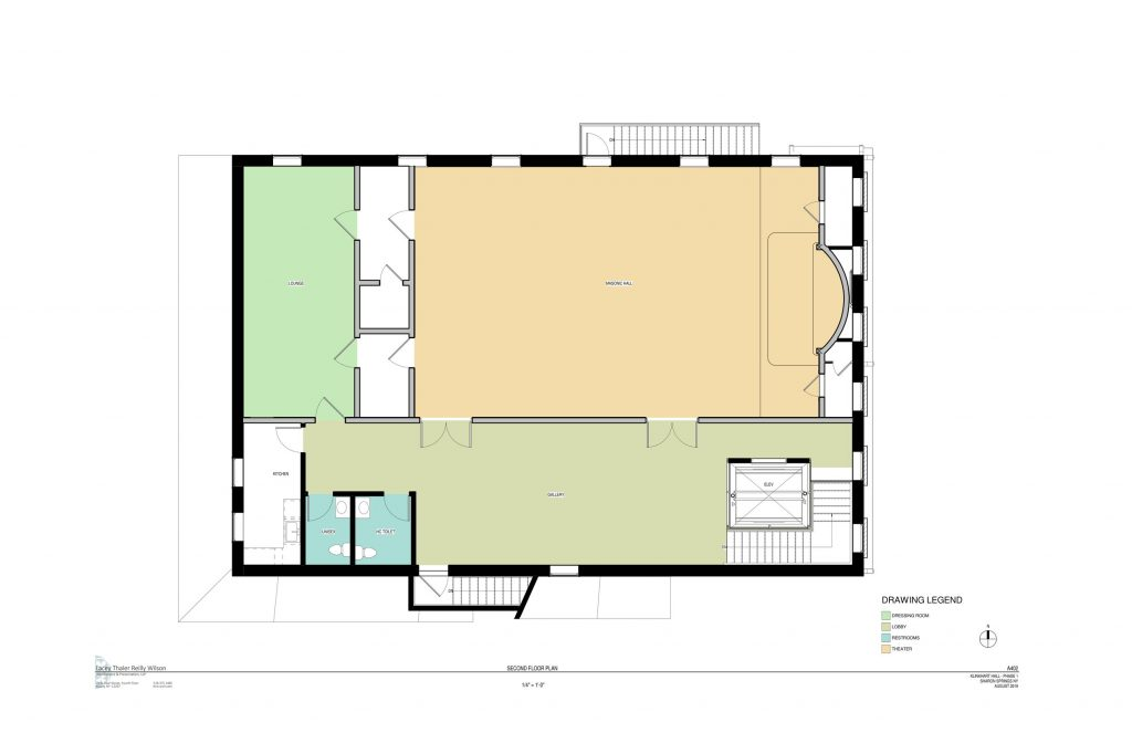 fully renovated 2nd floor plan