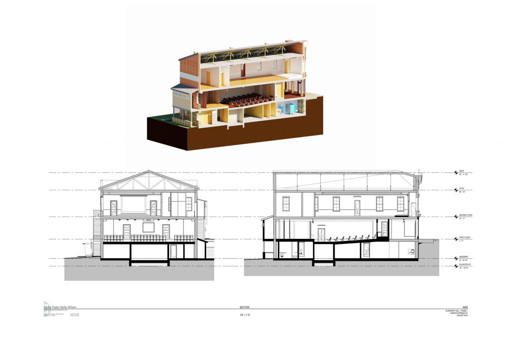 architect's section view
