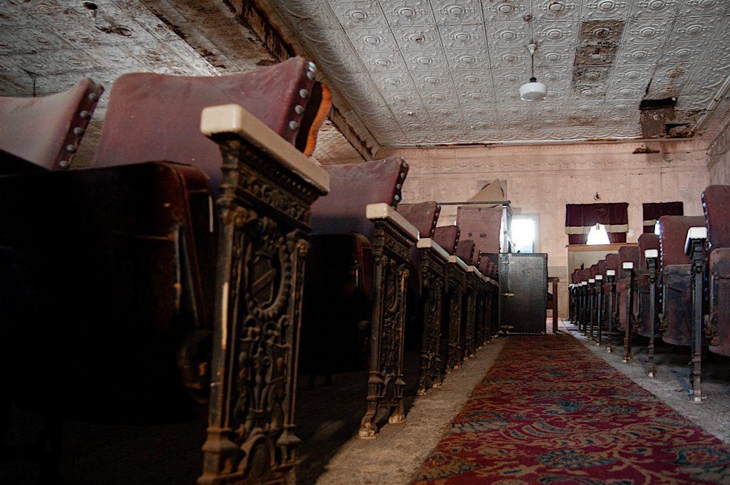 Theater aisle