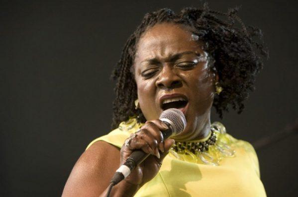 Sharon Jones singing