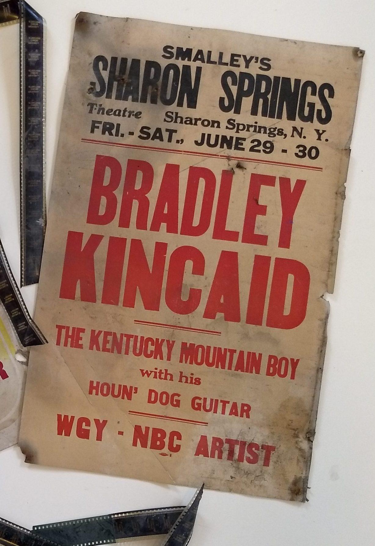 Bradley Kincaid poster