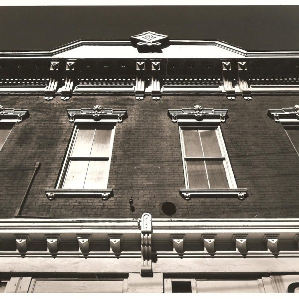 Klinkhart Hall black & white photo