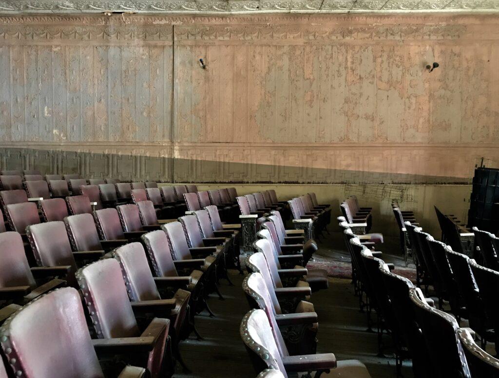 Klinkhart Hall theater seats
