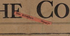 Klinkhart subscription label