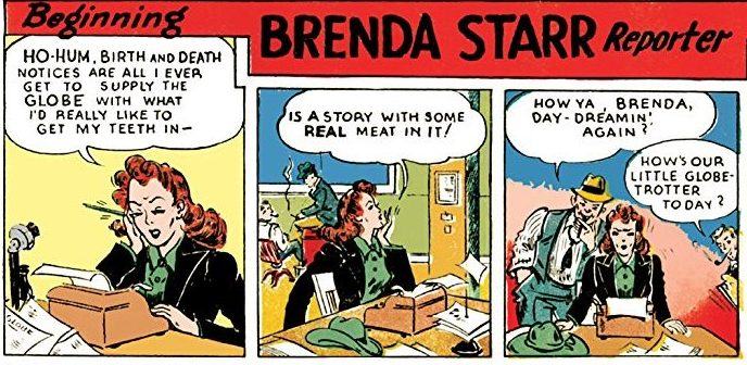 First strip-Brenda Stasrr