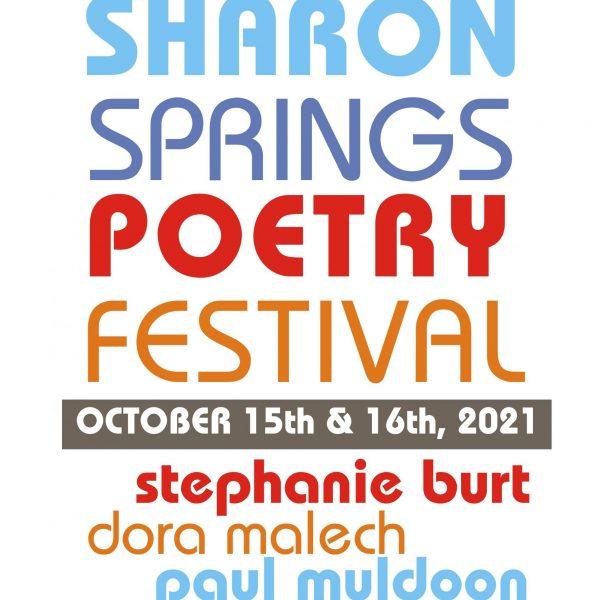 2021 Poetry Festival poster